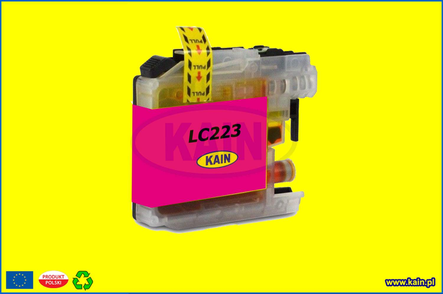 brotherLC223m.jpg BROTHER LC 223 XL Magenta kompatybilny /14ml