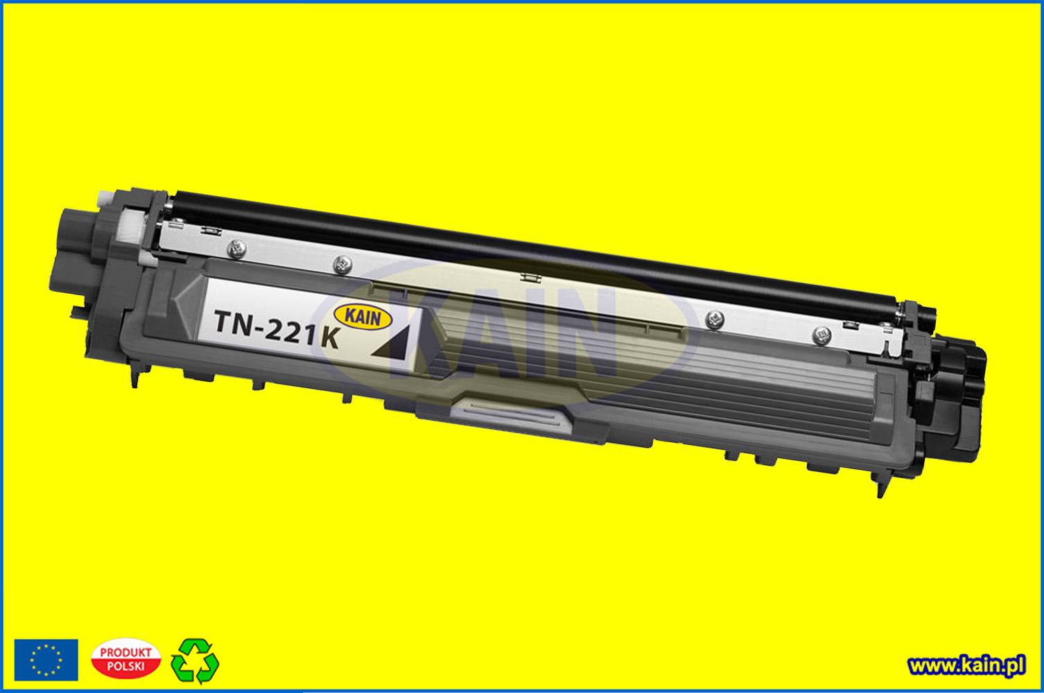 brotherhl3140bk.jpg TONER BROTHER HL-L 3200,MFC-L3700 Yellow refabrykowany KAIN /2,3k